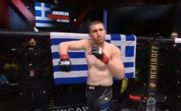 luchador griego