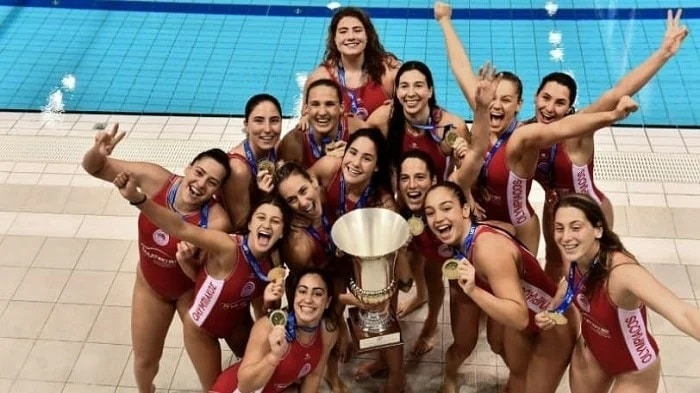 olympiacos waterpolo female