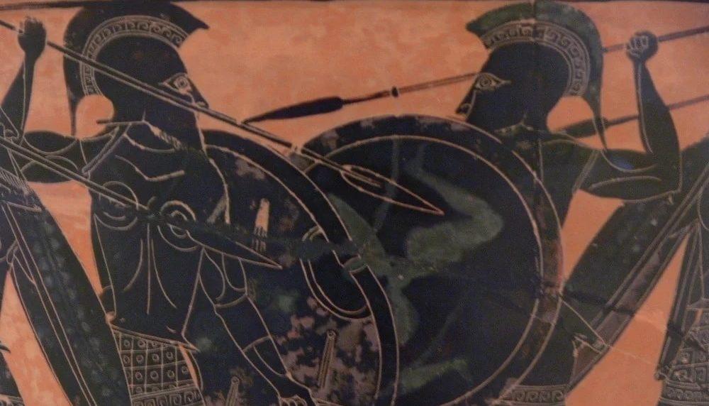 fuerzas elites de la Antigua Grecia