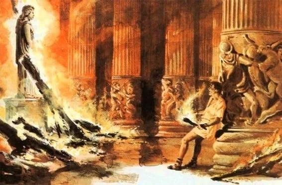 fire temple of Artemis