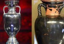 trofeo jarrón antiguo