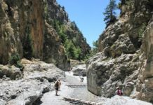 Desfiladero de Samaria