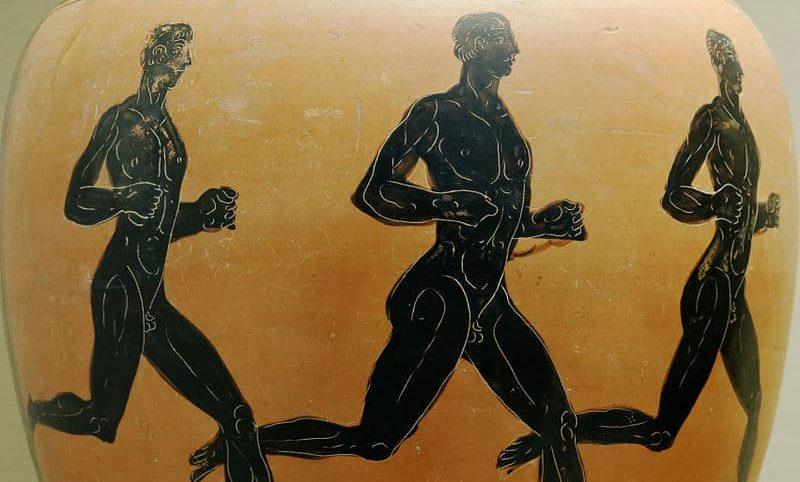 antiguos atletas