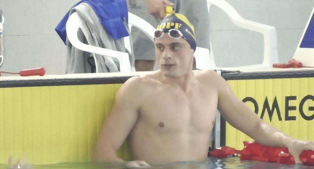 nadador griego