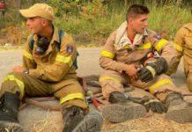 bomberos en Grecia