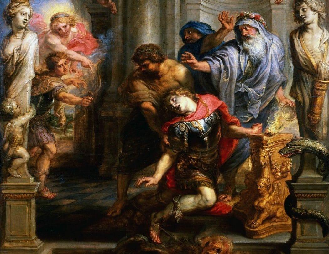 muerte de Aquiles