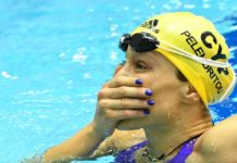 nadadora griega