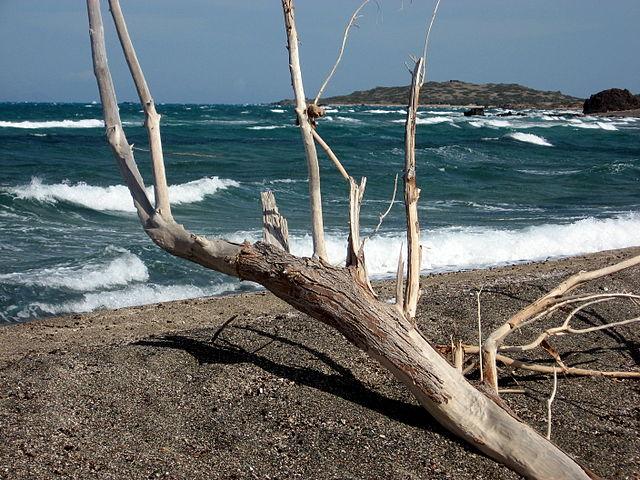 Isla en Creta